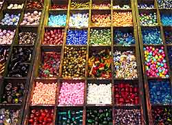 Bead Shop Display