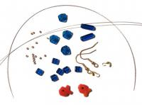 Materials for Fish Earrings