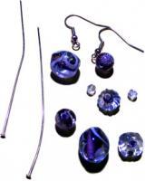 Drop Head Pin Earrings Materials