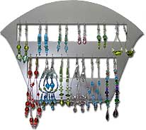 Beaded Earring Display