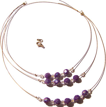 Multiple Wire Necklace 5