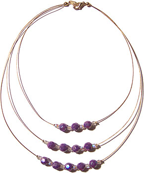 Multiple Wire Necklace