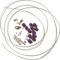Multiple Wire Necklace Materials